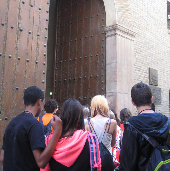 RUTAS LITERARIAS para ESO del Servicio de Educación del Ayto. Zaragoza