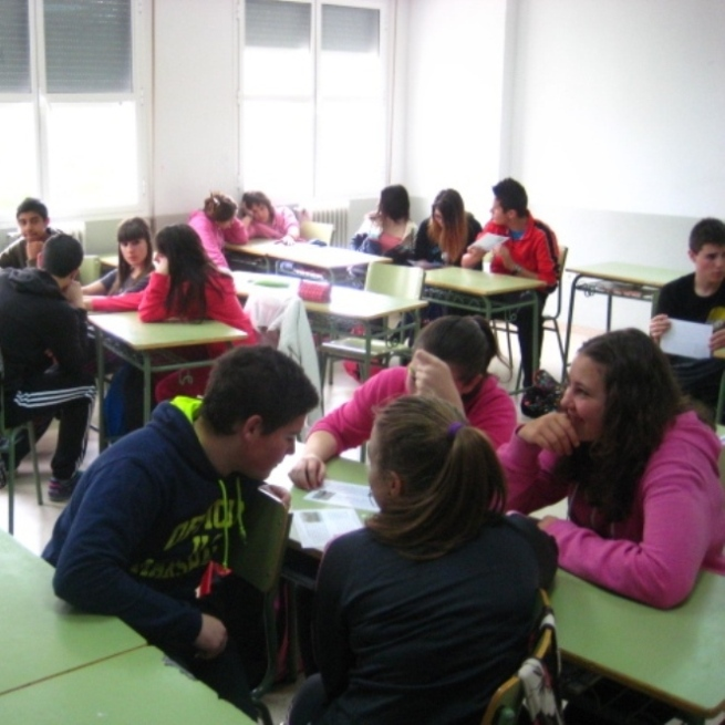 Divulgación de la UNIÓN EUROPEA en el aula para ESO SUSPENDIDA TEMPORALMENTE